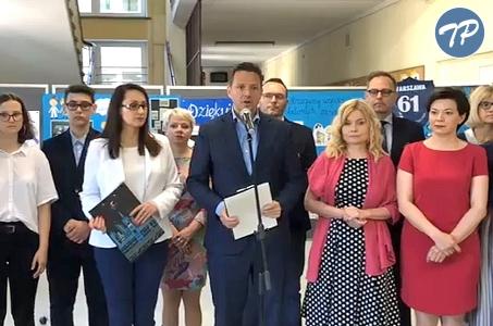 Warszawa przeciwstawia się mowie nienawiści.