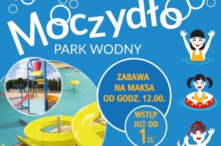 Warszawa. W sobotę wielkie otwarcie Parku Wodnego Moczydło!