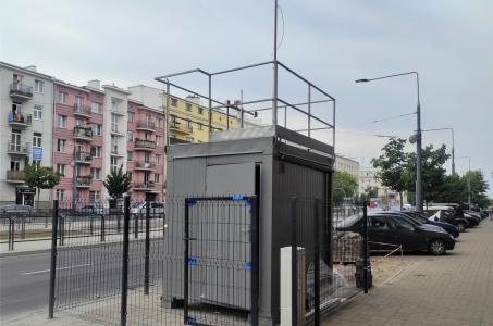 Warszawa. Budujemy stację referencyjną na Pradze-Południe.