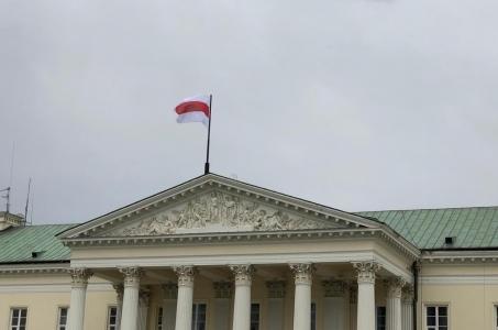Miasta wyrażają solidarność z narodem białoruskim.